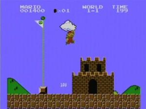 Mike's Game Glitches - Super Mario Bros. (NES)