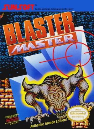 Blaster Master (NES) Box Cover