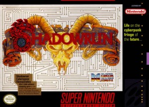 Shadowrun (SNES) Box Cover
