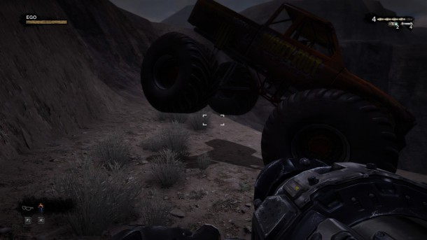 Duke Nukem Forever Monster Truck Crush