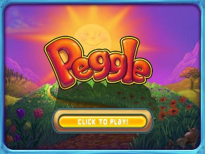 Peggle Deluxe (PC) Title Screen
