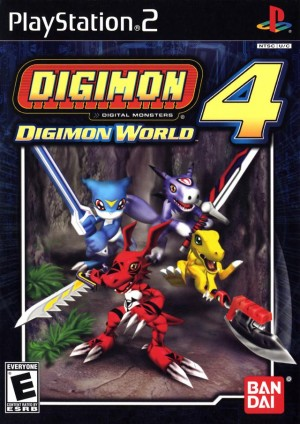 Digimon World 4 (PS2)