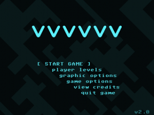 VVVVVV Title Screen