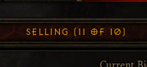 Diablo III - Auction Bug