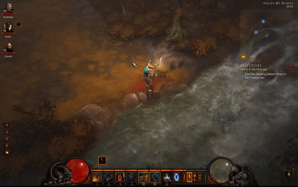 Diablo III - River Reflection Glitch