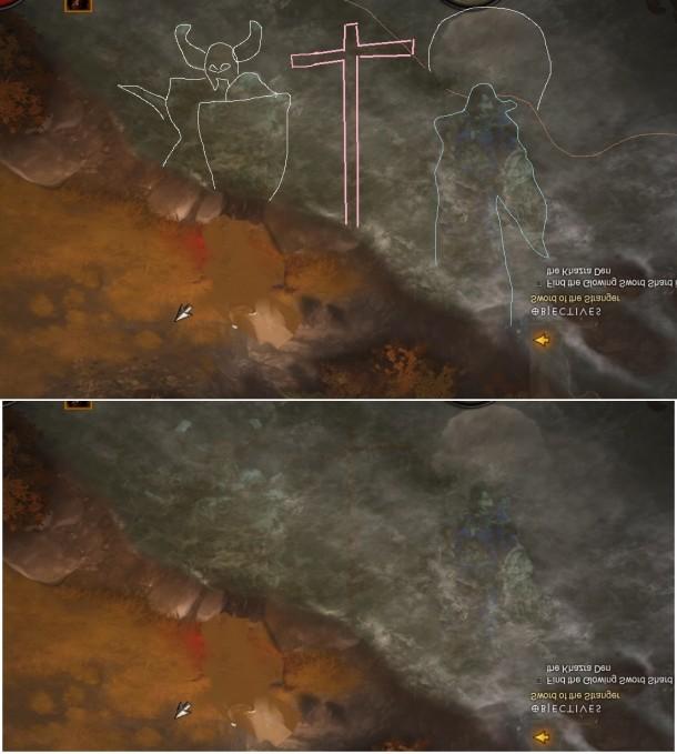 Diablo III - River Reflection Glitch